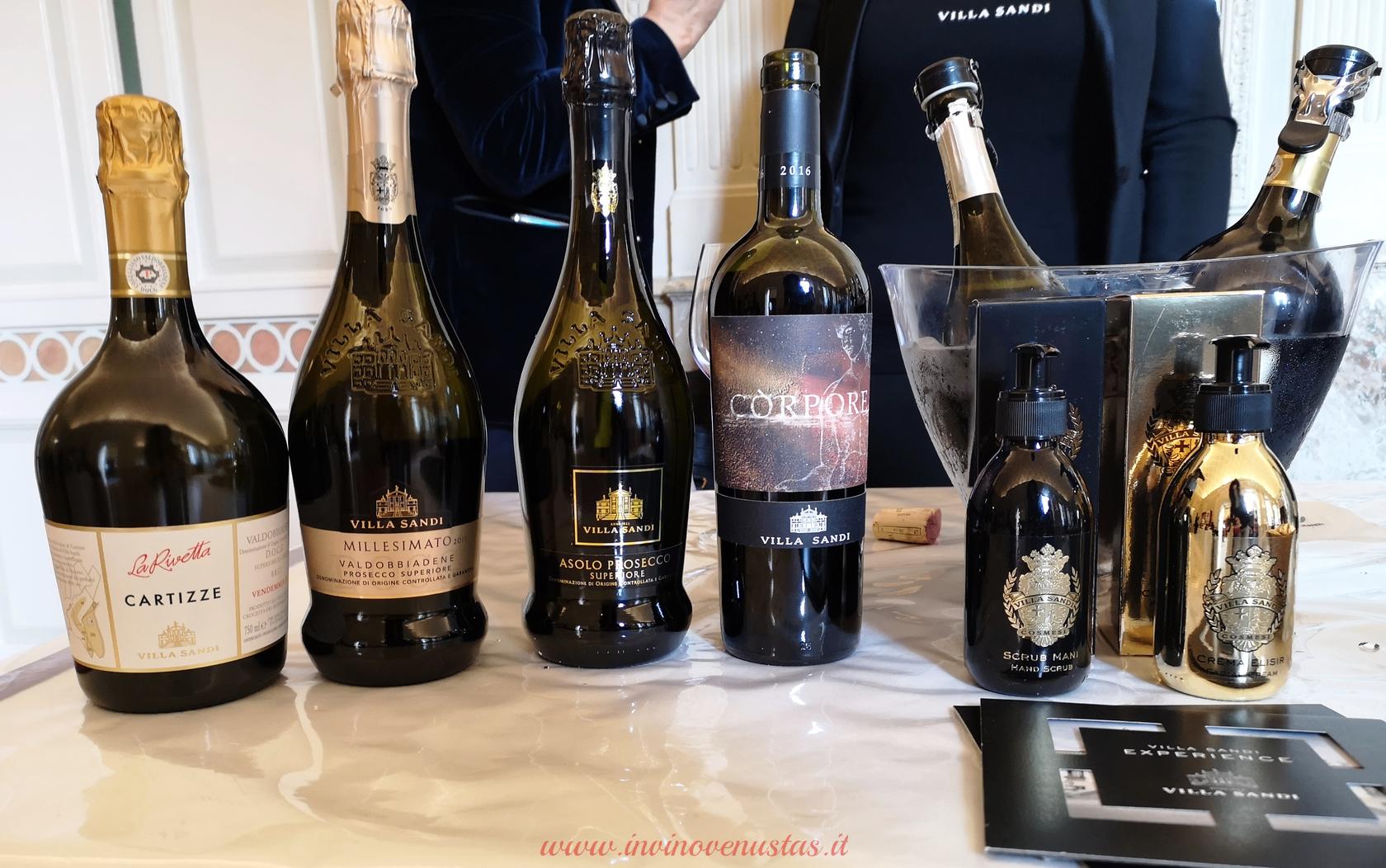 Villa Sandi Cosmetica Anteprima Merano Wine Festival MWW 2019