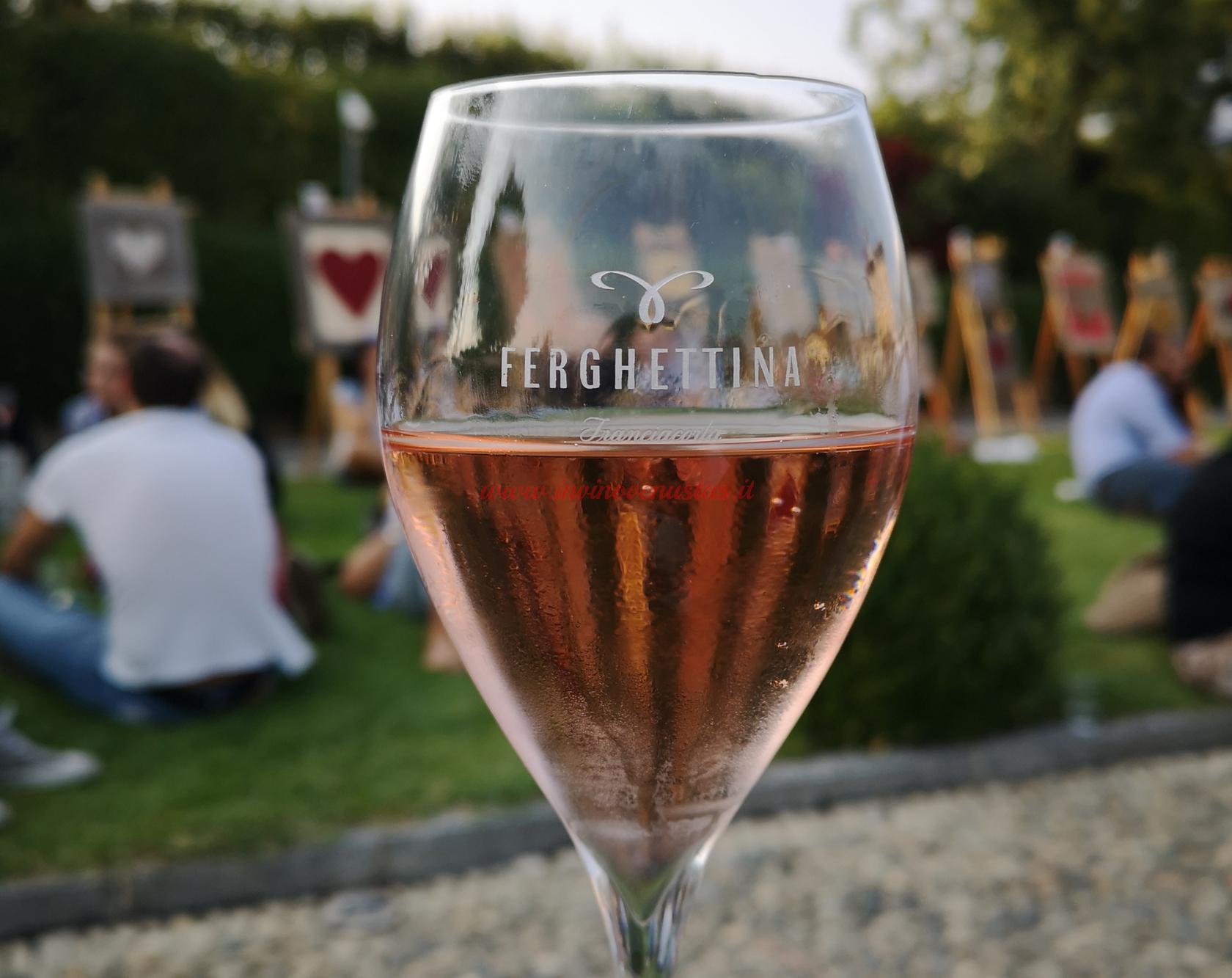Calice Ferghettina Rosé Festival Franciacorta 2019