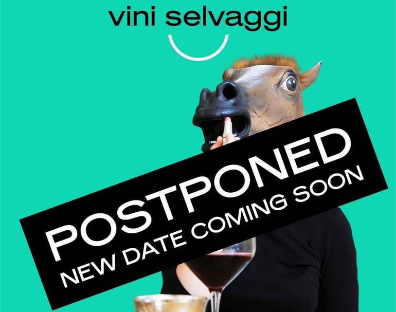 Vini Selvaggi Roma 2020 rinviato