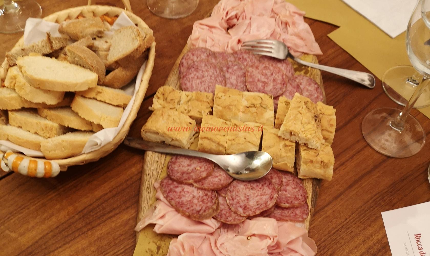 Tagliere Salumi serata degustazione Tra i Colli Maceratesi