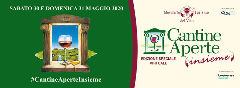 Cantine Aperte Insieme 30/31 maggio 2020 in collaborazione con iorestoacasa.delivery