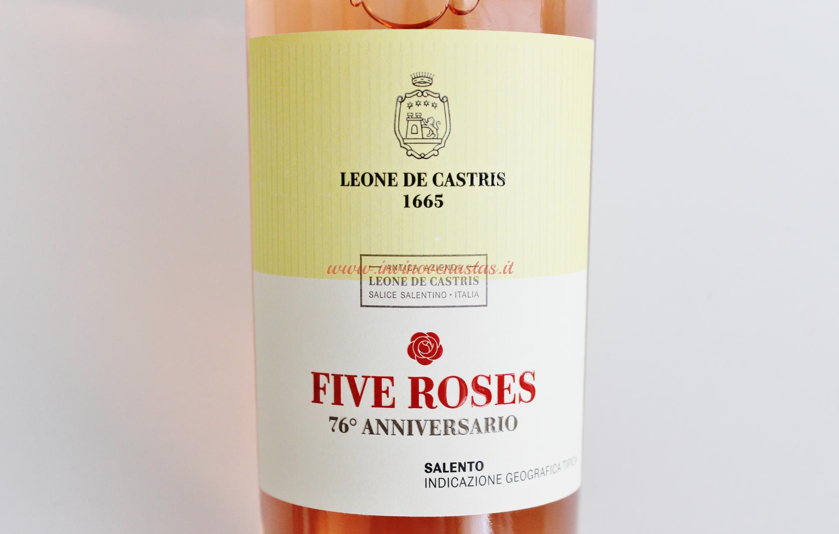 Five Roses 76esimo Anniversario Leone De Castris
