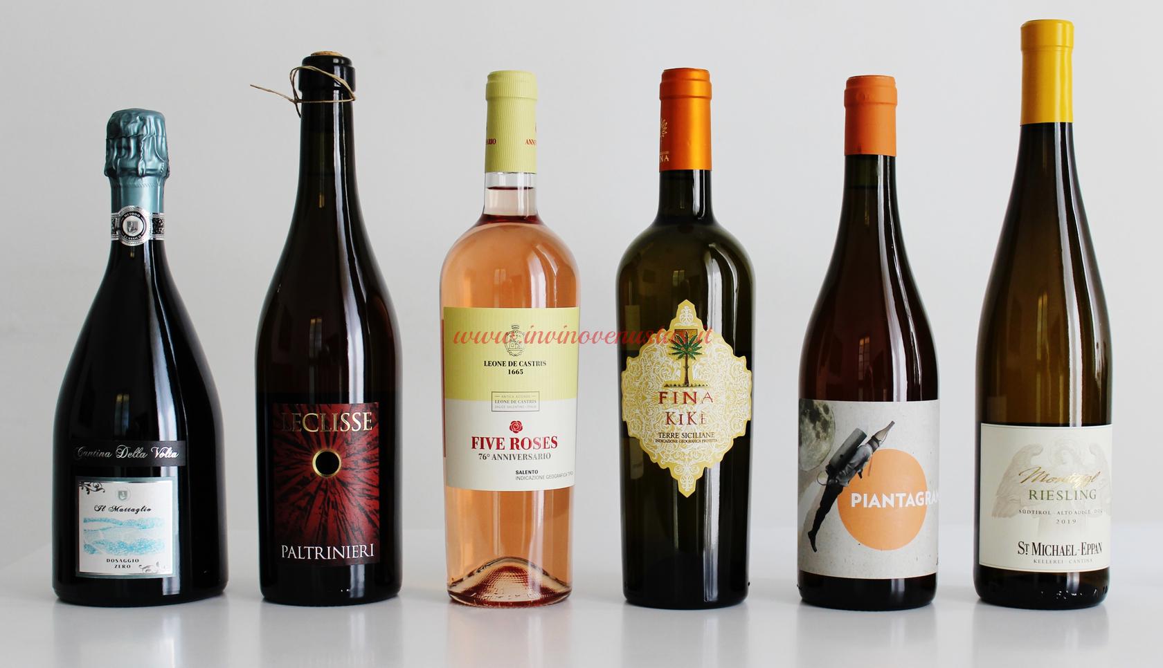 Bottiglie primo ordine Callmewine