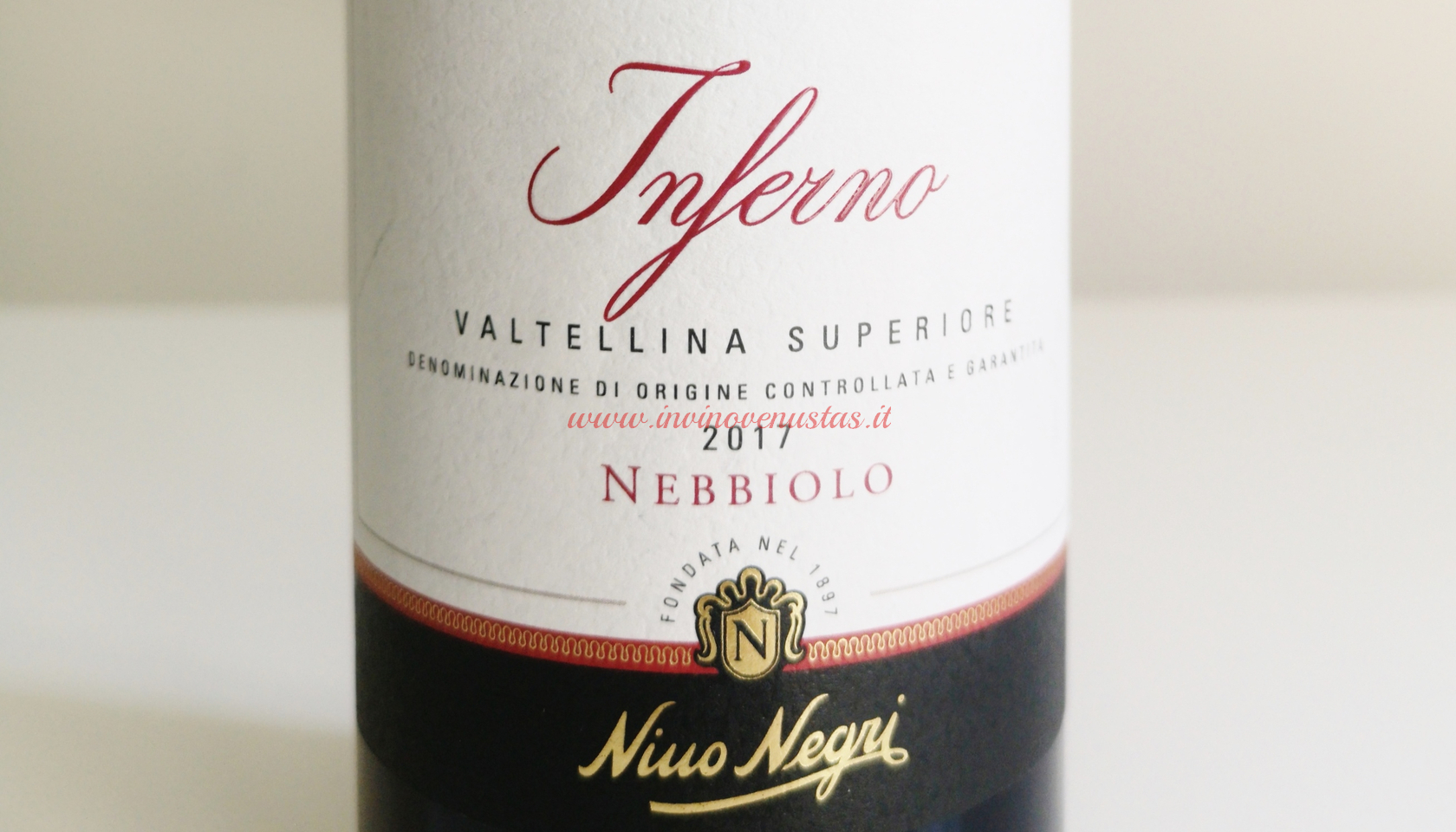 Bottiglia Inferno Valtellina Superiore Nino Negri