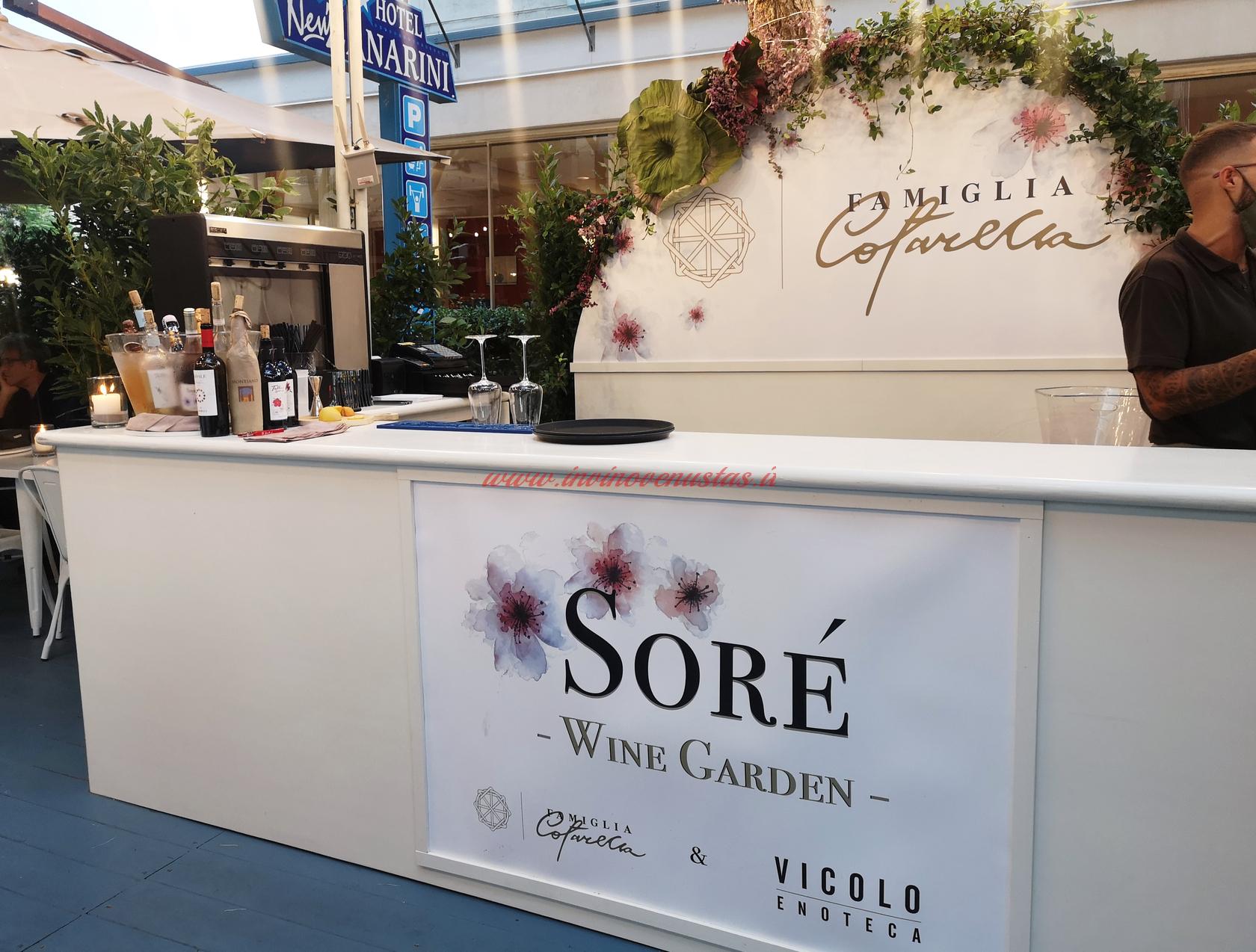 Soré Wine Garden Riccione