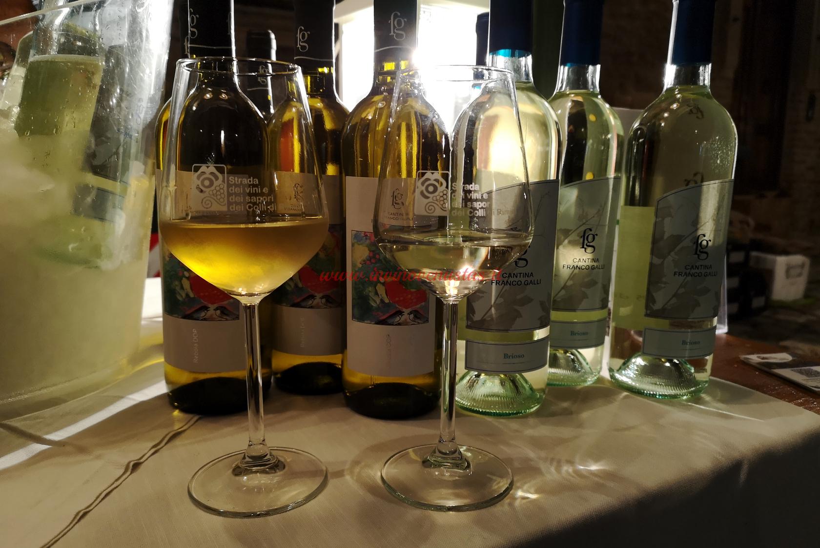 Vini bianchi Franco Galli p.assaggi di vino 2020