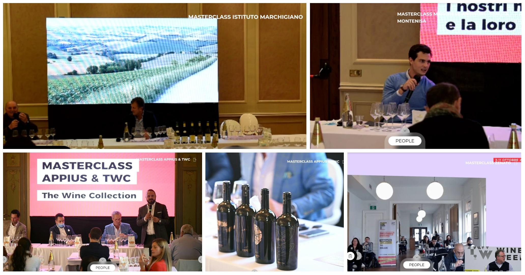Milano Wine Week 2020 masterclass digital