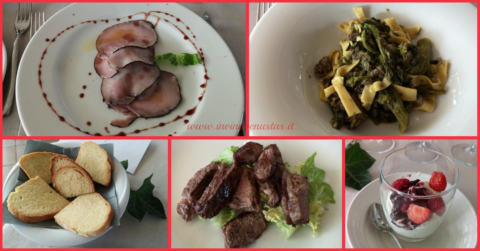 Piatti menù degustazione domenica 18 ottobre 2020 Osteria Borgo Condé Forlì