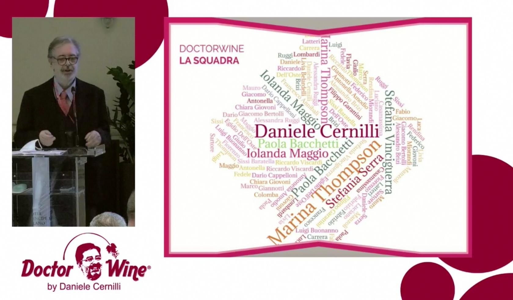 Presentazione guida Doctor Wine MWW 2020