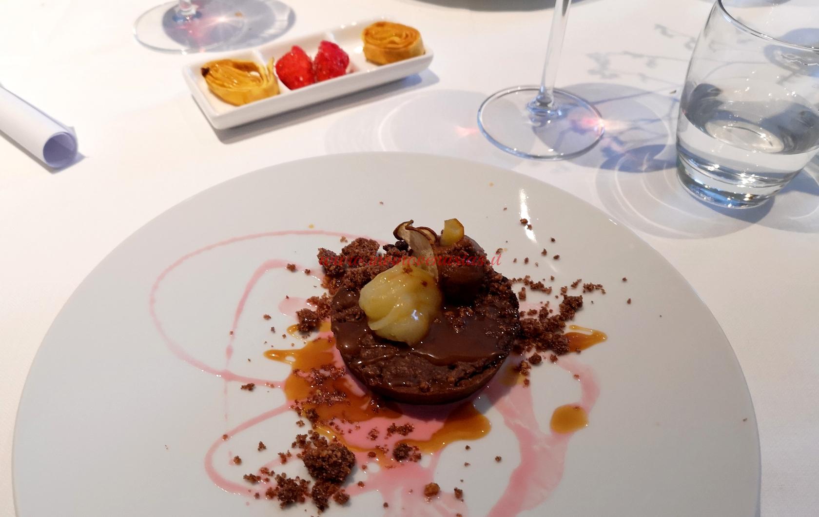 Dessert e pre dessert Menù Degustazione San Valentino Casa Artusi