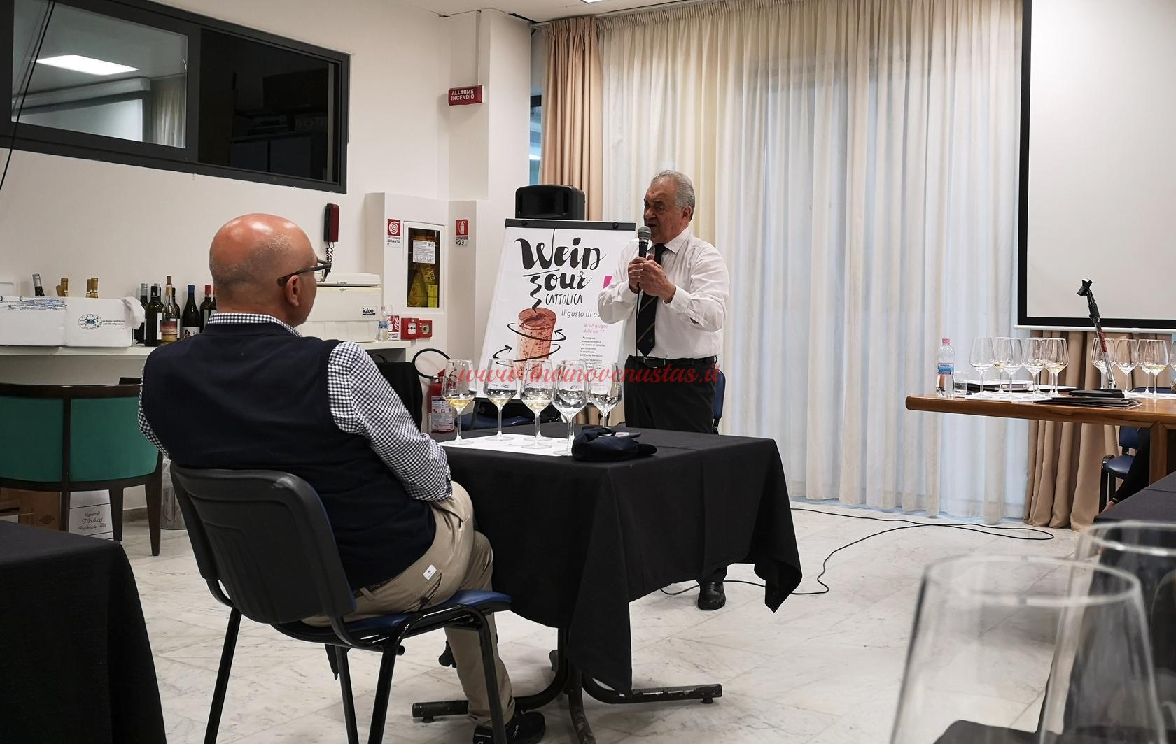 Seminario Wein Tour 2021 con Bruno Piccioni