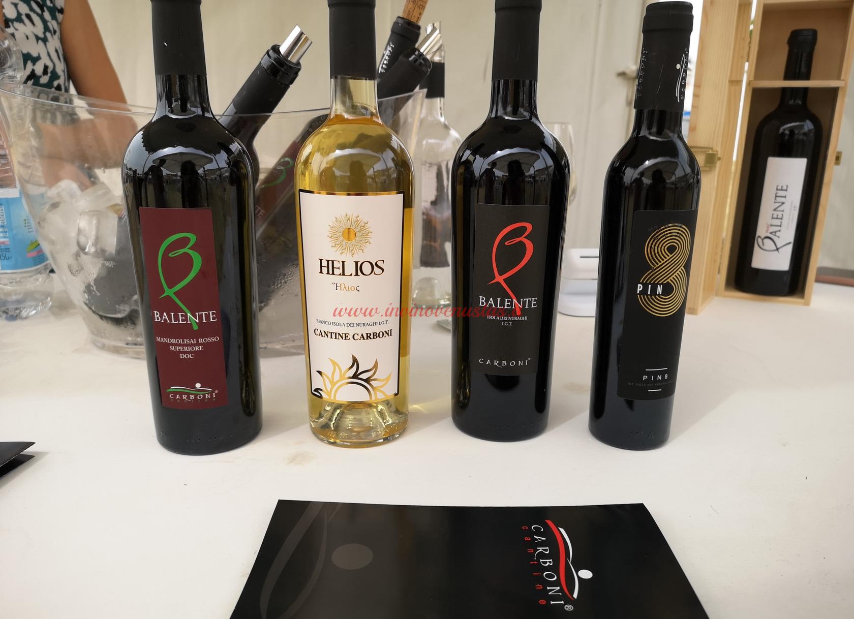 Cantina Carboni vini in degustazione Only Wine 2021