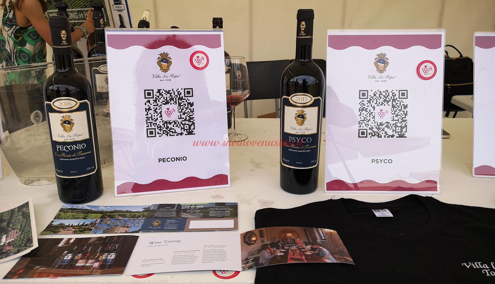 Peconio e Psyco Villa La Ripa in degustazione a Only Wine 2021
