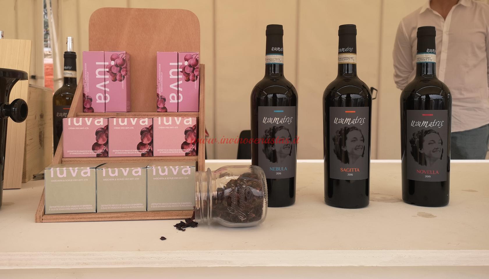 Vini Uvamatris e cosmetici Iuva Only Wine 2021
