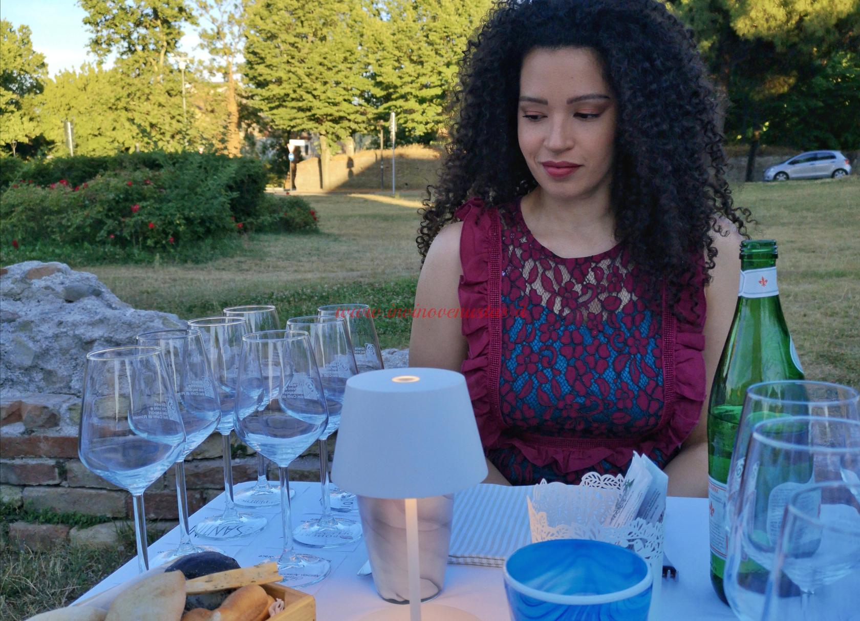 Lara In vino venustas serata Le Sette Rebole
