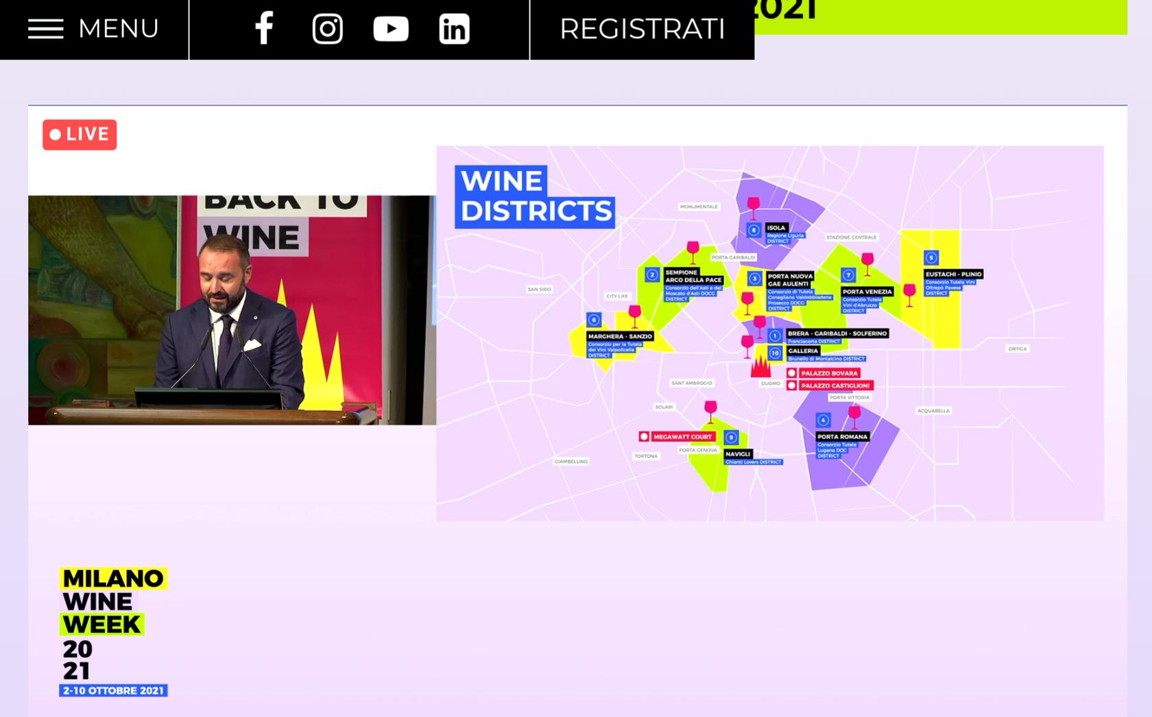 I 10 Wine District Milano Wine Week 2021