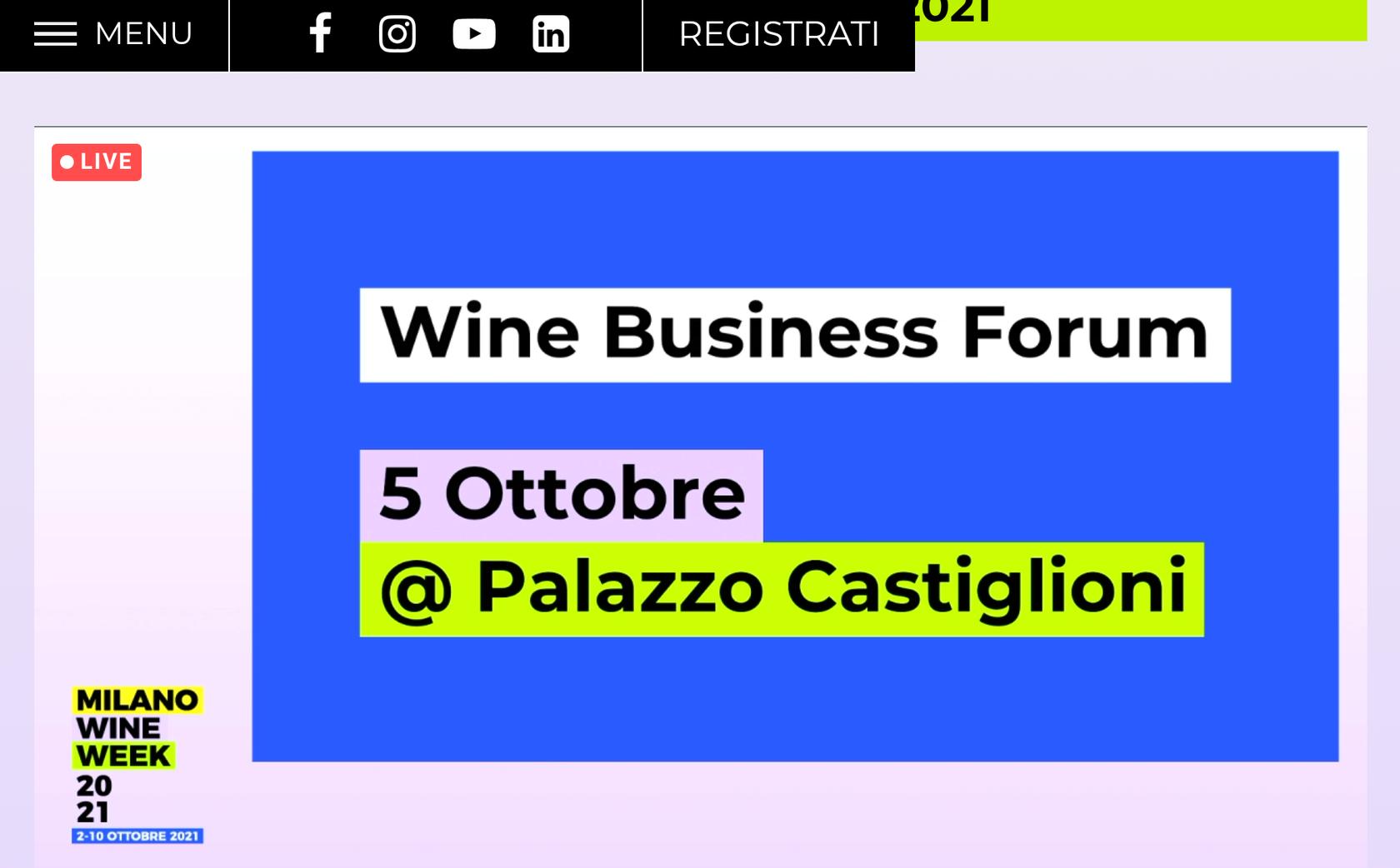 Wine Business Forum MWW 2021