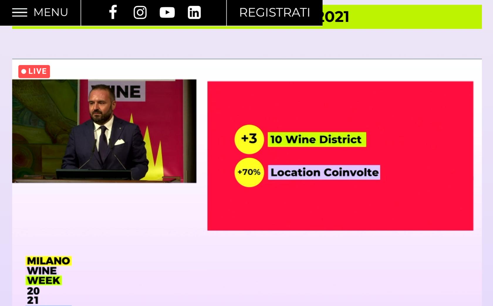 I nuovi Wine District Milano Wine Week 2021